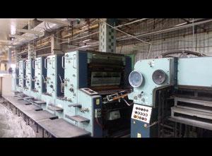 Veb Polygraph P54-3 Пятикрасочная офсетная машина