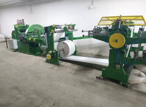 Overhauled Flat/Satchel Bag Making Machine with 3 color in-line printer