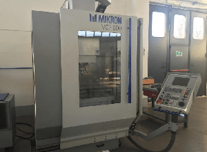 Used MICRON vcp 600 Machining center - vertical