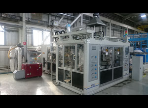 SMC 3000 DTC Blowmoulding machine