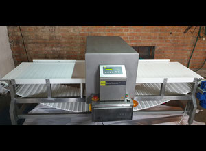 Used industrial metal detector S+S Sesotec GLS Sensity 2 with conveyor