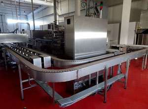 Ligne de production de croissants / biscuits Agriflex, Indumatic, Thermopan, Gorreri, Ulma