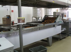 Complete line for donuts 5000 u/h Food machinery