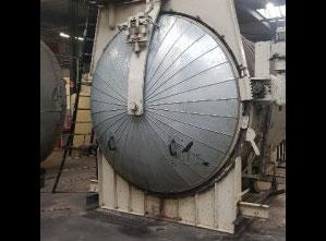Stroj na zpracování gumy Scholz 2.5m steam Autoclave