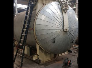 Scholz 2.5m steam Autoclave P90410142