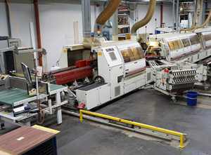 Used IMA COMBIMAT/II/Q/MN/MEV/DD double sided edgebander