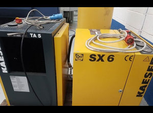 Used Kaeser SX6 Oiled screw compressor