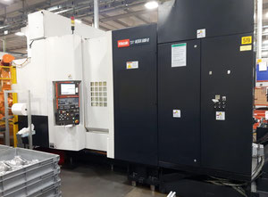 Used MAZAK HCN5000 II Machining center - palletized