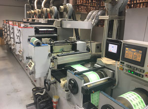 Flexodruckmaschine 2002 Sanjo PO3 350 waterless