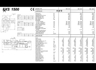 Stork SXS 1500 - 850 P90422015