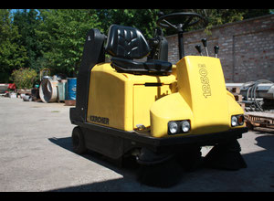 KARCHER KMR  1250 B KEHRSAUGMASCHINE, SWEEPING MACHINE SALE