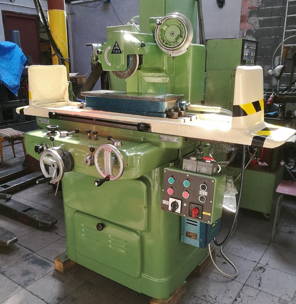 Rovinná bruska TOS BPH 20 Použité stroje a zařízení - Exapro