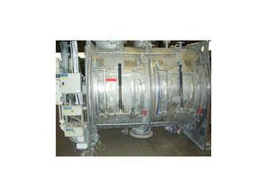 Horizontal stainless steel IMCATEC ploughshare mixer type CIM-L4000