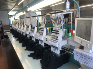 TAJIMA TEHX- C 1212 Embroidery machine