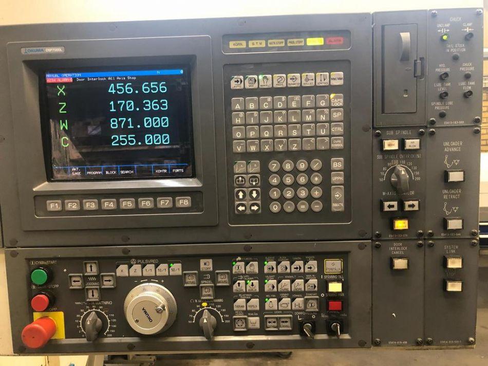 Okuma LB15 II MW cnc lathe - Exapro