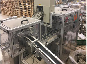 Used Jakob & Wienmeier CK05-AV/6-R-500 Cartoning machine / cartoner - Vertical