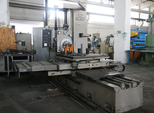 UNION Karl Marx Stadt BFT 90/3 Horizontal Table Type Boring and Milling Machine with Face Plate