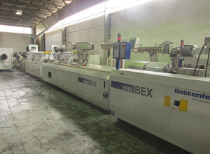 Battenfeld MBEX 2-54C Conical Twin Screw Extrusion Line