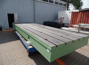 WMW 6400x1870x415 Aufspannplatte / Stahlguss-Platte