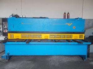 Nożyce gilotynowe hydrauliczne Piesok CNTA 3150 x 6,3A