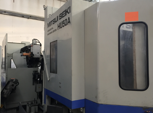 Used Mitsui Seiki HU 50 A Machining center - palletized