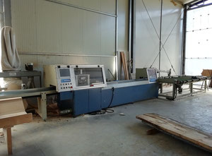 Used Bottene R5000 Used cross-cut optimizing saw