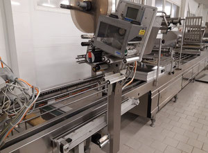 Maszyna do produkcji, pakowania sera Alpma/ bizerba/ weber/ multivac/jomet Complete cheese packing and slicing line
