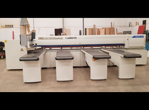 Gabbiani Galaxy 105 Used cross-cut optimizing saw