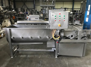 FMT SW-3000-A Vegetable and fruit cutting, washing and blanching machine