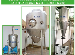 Labotrade SD-100 spray drying plant