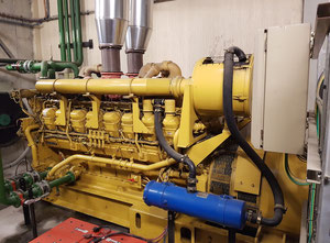 Caterpillar 3516B Generator set