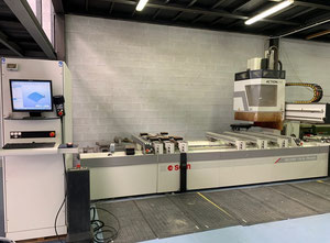 Used Scm Group RECORD 110 AL TVN PRISMA Wood CNC machining centre - 5 Axis