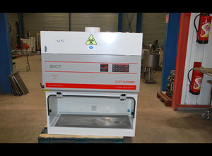 Laminar flow hood with stainless steel worktable for lab JOUAN ESI-BIO-NF-PC-UV-PF