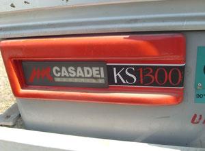Sürgülü masa testeresi Casadei KS1300