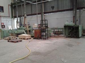 Ligne complète pour la fabrication de lattes en bois pour sommiers