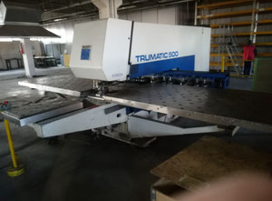Used turret punch press CNC for sale in Italy - Exapro