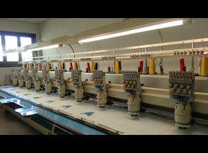 2 x Barudan machines 10 heads