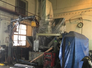 Tos Hulin MCSK 8 CNC vertical turret lathe with cnc