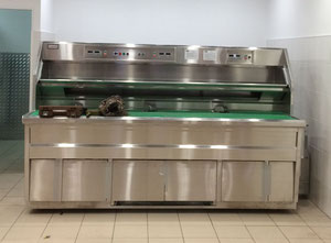 Urządzenie do przetwórstwa żywności Florigo 3 round pan fryer