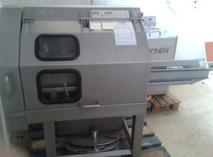 Kronen brand, made of stainless steel, composed of GS 10 cutting machine, washing machine and basket centrifuge.
