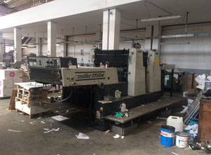 Used Miller TP 104-2 Offset two colours