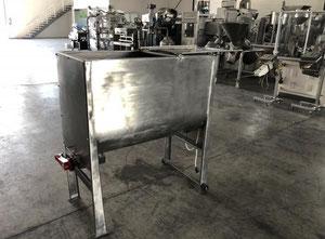 Mezcladora de bandas en inox 200 litros