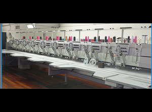 ZSK ZSK-Multi-Head Embroidery Stickmaschine