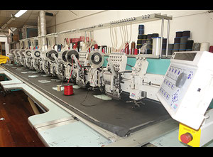 Tajima Multi-Head Embroidery  8 tête Stickmaschine