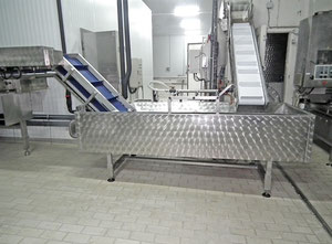 Glazing machine (continuous machine Glaze) with ud. autonomous, cooling Bizer