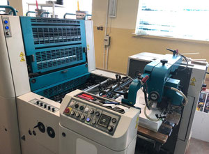 KBA Polly 474 Prestige 4 Farben Offsetdruckmaschine
