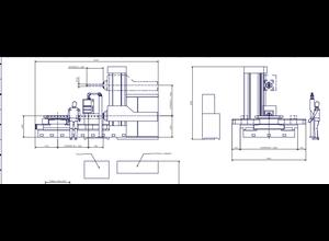 PAMA AC 105 F CNC Tischbohrwerk