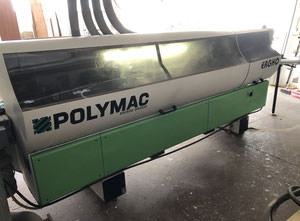 Used Polymac ERGHO 3 double sided edgebander