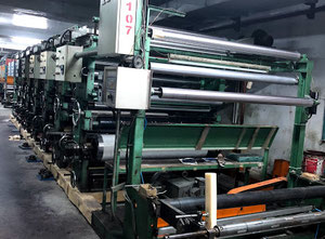 Taiwan 2007 Web continuous printing press