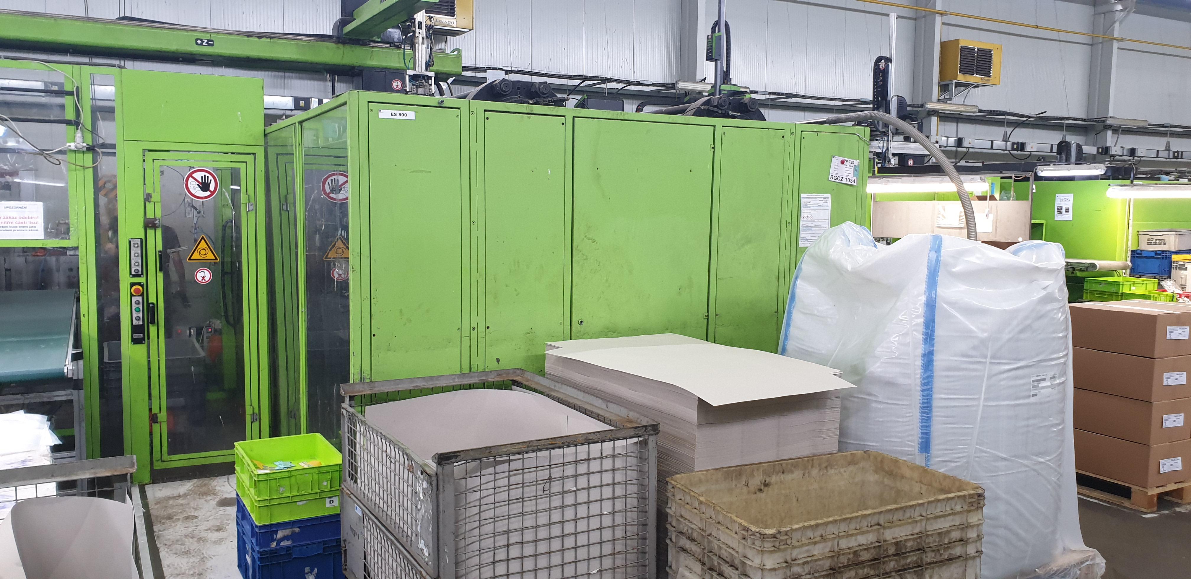 Engel ES4550/800 Duo Injection Moulding Machine + Robot